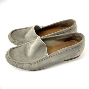 Aldo men suede leather loafers shoes